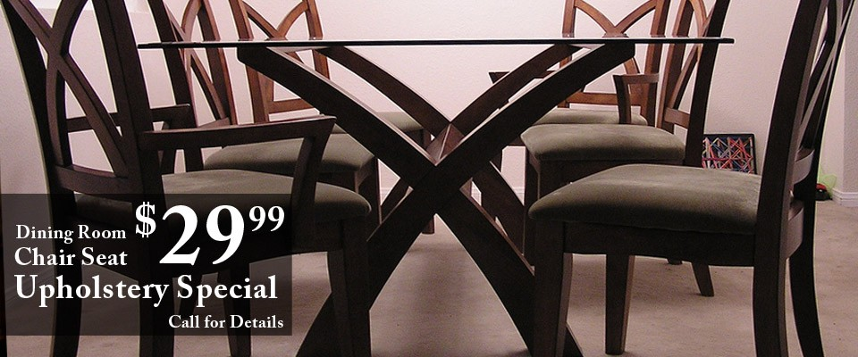 Dining Room Chair Seat Special - The Antique Furniture & Fabric Specialist Discover Our Wide
